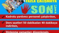 """""""NEFES ALMAK İSTİYORUM"""" İMZA KAMPANYASI"""