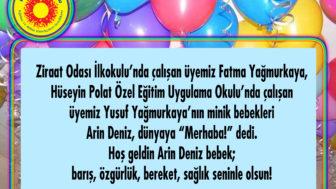 HOŞ GELDİN ARİN DENİZ BEBEK!