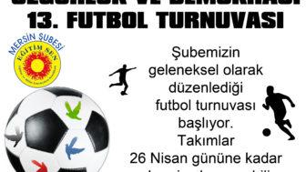 FUTBOL TURNUVASI FİKSTÜRÜ