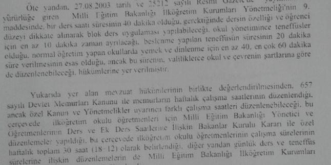 KURS/SEMİNER ÜCRET TALEP DİLEKÇE ÖRNEĞİ