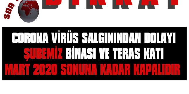 ŞUBE BİNAMIZ