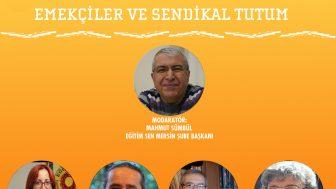 """PANEL 1 """"PANDEMİ SONRASI EMEKÇİLER VE SENDİKAL TUTUM"""""""