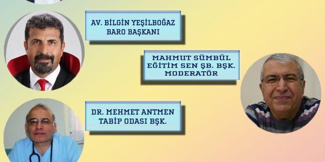 """PANEL 4: """"PANDEMİ VE SONRASI MERSİN'İ KONUŞUYORUZ"""""""